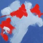 CUMULUS 2014 46x38 acrylic on canvas