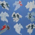 PORTALS 2014 115X215 acrylic on canvas