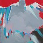 THUNDERBIRD 2014 35x27 acrylic on canvas