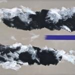 Il Brennero, senso Venezia,114x146 acrylic on canvas